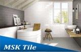 """"""" azulejo esmaltado de cerámica biselado blanco de la pared del lustre 4X12"""