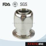 Redondo sanitario del acero inoxidable que rosca/adaptador embridado del tubo (JN-FL6008)