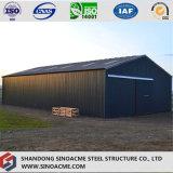 Taller porta prefabricado de la estructura de acero del marco