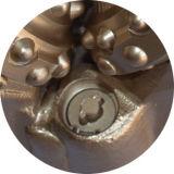 Poço de gás da água do petróleo que perfura bits de rocha Tricone para vários tamanhos do hard rock