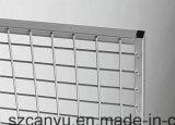 Painéis de engranzamento galvanizados revestidos PVC do fio da divisória do jardim