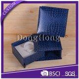 Empaquetado por encargo de la joyería del papel especial del fabricante del rectángulo de regalo