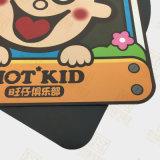 Imán promocional del refrigerador del regalo cubierto con el papel de arte