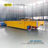 Chariot plat électrique lourd à utilisation de fabrication d'aciérie