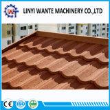 La pietra del materiale da costruzione di alta qualità ha ricoperto le mattonelle di tetto schiave del metallo