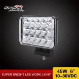 Faro sigillato massimo minimo dell'indicatore luminoso del lavoro del fascio 4X6 45W LED