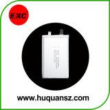 Bateria recarregável de polímero de lítio Exc102555 1500mAh