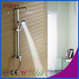 Fyeer Messing-LED Regen-Dusche des an der Wand befestigten Badezimmer-eingestellt (QH336F)