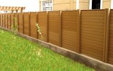 Антисептиковый деревянный экран загородки уединения для загородки сада и загородки виллы