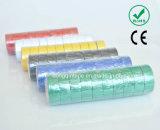 Nastro elettrico nero standard di alta qualità dell'adesivo dell'isolamento elettrico variopinto del PVC