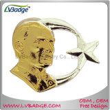 Pin del metal de la fábrica del regalo de la promoción con la muestra libre