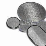 Sinterizado de alta calidad del filtro de disco de acero inoxidable