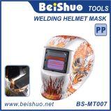 De super Lichte Helm van het Lassen van de ZonneMacht Auto Verdonkerende