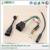 Bom desempenho conjunto de cabos com cores diferentes