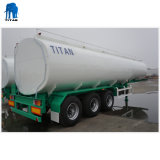 40000 van het Volume van de Dubbele van de Brandstof liter Aanhangwagen van de Tanker Semi