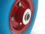 Rotella della gomma piuma dell'unità di elaborazione di pollice della gomma solida 260X85 per il carrello del carrello