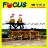 Завод Hzs35 35m3/H неподвижный конкретный смешивая с низкой ценой
