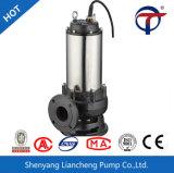 7.5kw tipo pompa per acque luride di Jywq di 3 pollici sommergibile d'agitazione automatica
