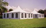 Chinese Fabrikant 10X10m de Witte Tent van de Pagode van de Markttent met het Venster van de Kerk