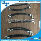 Boyau flexible jumeau hydraulique R7 du boyau SAE100 R7/