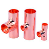 Gelijke Copper Tee voor Plumbing/HVAC