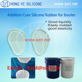 Silicone Heel Cups Makingのための熱いSale Translucent RTV Silicone Rubber