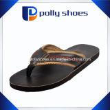 Uomini noi sandalo nero di caduta di vibrazione 1.2