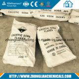 Fiocco industriale 98.5% della soda caustica del grado in sacchetto 25kg