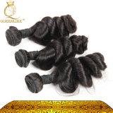 Cheveux humains brésilien/5D'une Vierge sèche/desserrés cheveux (d'onde FDXI-BL-010)