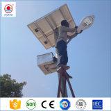 La iluminación exterior LED solar, energía solar de la luz de carretera