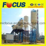 Preço de fábrica! planta de mistura concreta da cubeta da escalada 75m3/H