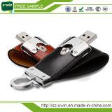 Le lecteur flash USB en cuir de la qualité le meilleur marché 32GB