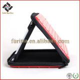 De glanzende Laptop van EVA van het Patroon van de Lijnen van Pu Leer In reliëf gemaakte Zak van het Geval (FEC035)