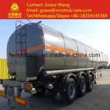 Tri As 40cbm de Op zwaar werk berekende Aanhangwagen van de Tanker van het Bitumen met het Isoleren Laag