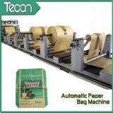 El cemento despide la máquina pesada de la fabricación del bolso