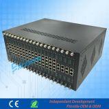 Elevada estabilidade central telefónica Central até 256 ramais 32 Co linhas PBX de hotel