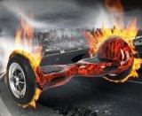 """Koowheel 10"""" chama Vermelha Scooter Eléctrico de Tração em Duas Rodas Balanceamento automático de skate da Placa de Ar"""