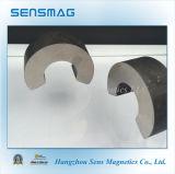 Fertigung kundenspezifischer permanenter Alnico-Magnet mit C geformt