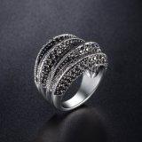 Новые удивительные хороший подарок белого золота кольцо люка камнеуловителя