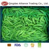 Padrão de exportação as ervilhas sugar snap congelados