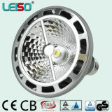 특허 3D COB 95ra Dimmable LED Spotlight LED PAR38 (LS-P720-A-BWWD/BWD)