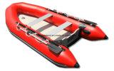 De Boot van het Rubberbootje van Aqualand 12feet 3.6m/de Opblaasbare Boot van de Motor/de Visserij van Sporten/Militaire Redding (aql360)