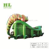 遊園地のInflatables Gaint Chamaleonの膨脹可能なスライド