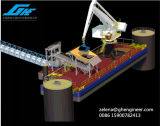 Плавая E-Кран для судно-сухогруза