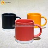 Mok van de Koffie van twee Toon de Ceramische voor Cappuccino's met Handvat