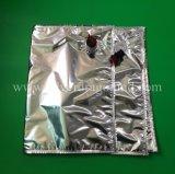 상자에 있는 큰 220L 무균 알루미늄 부대, 액체 주스 또는 물 또는 정신 부대