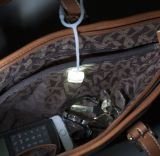 小型シリコーン袋ランプの磁気閉鎖LEDのハンドバッグの財布ライト