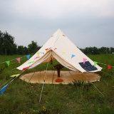 安い防水綿のキャンバスグループのキャンプの鐘テント