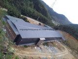 Стальные конструкции слой из сборных конструкций здания