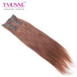Clip brasileño de Remy de los productos del pelo humano en la extensión del pelo